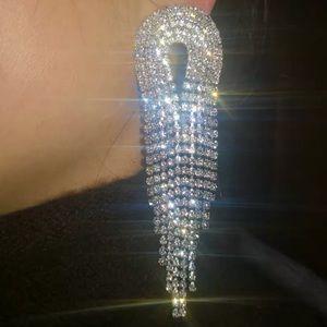 Bling bling evening earrings